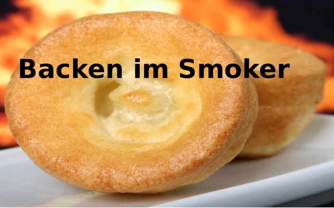 Backen im Smoker